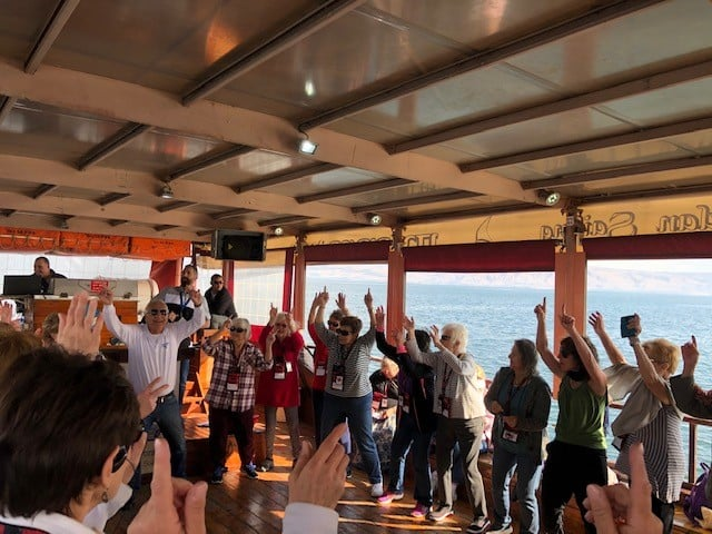 Sea of Galilee boat ride 2