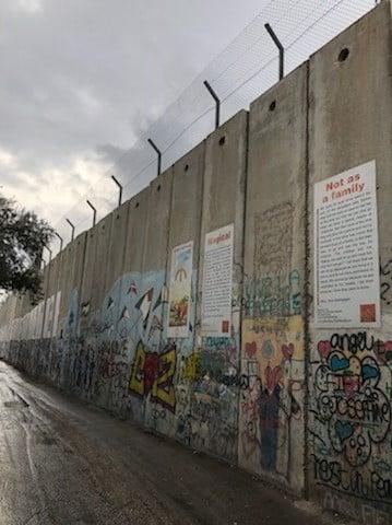 Wall in Jerusalem 2