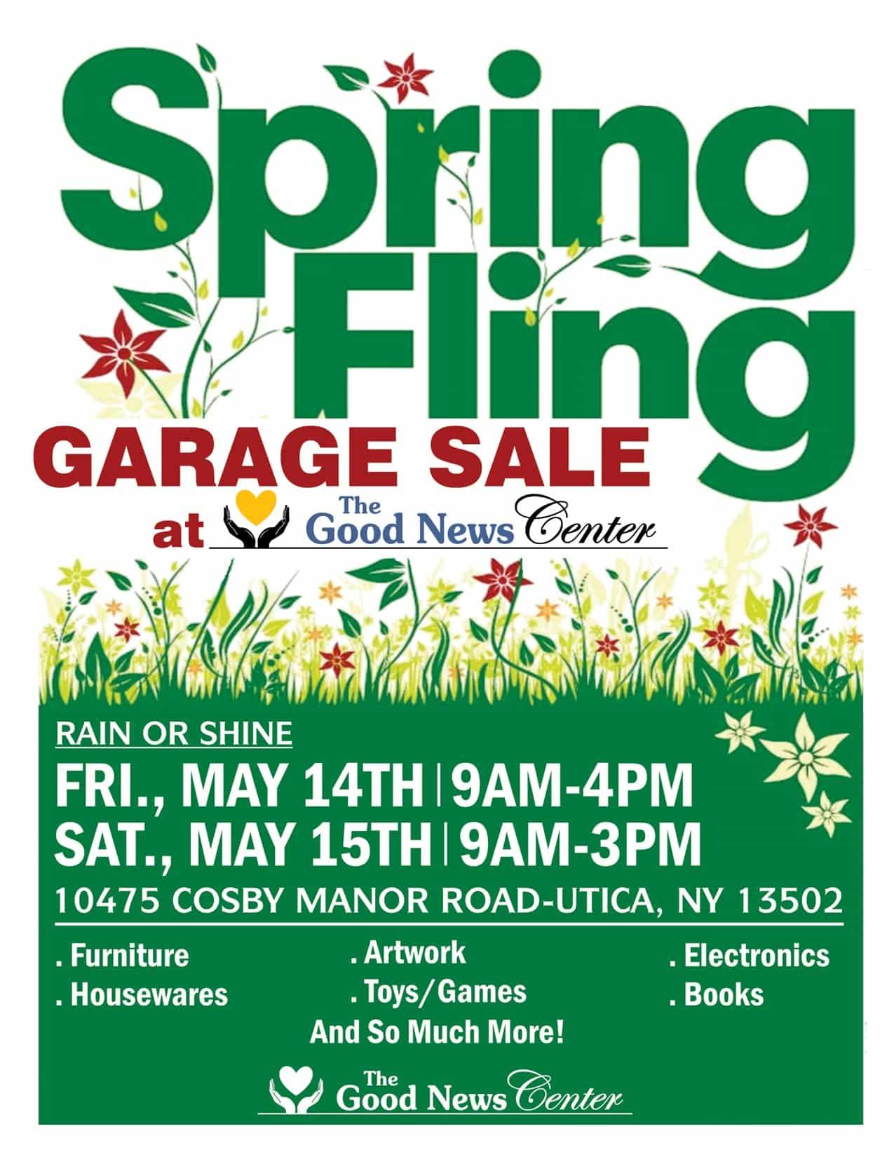 Spring Fling Garage Sale