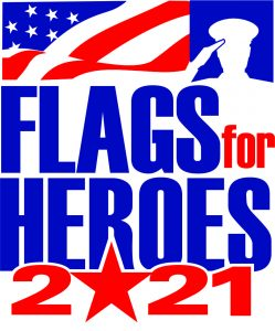 Flags for Heroes logo 2021